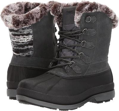 Propet Lumi Tall Lace Snow Boot