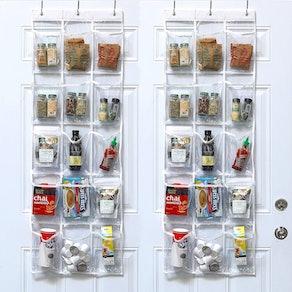 SimpleHouseware Over the Door Organizer (2-Pack)
