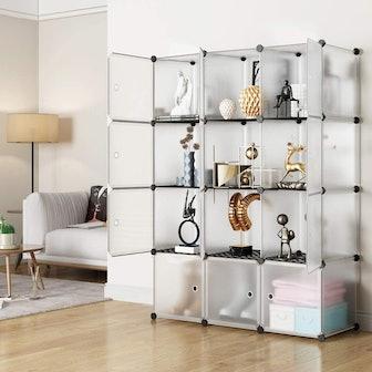 KOUSI Portable Storage Cubes (12-Pack)