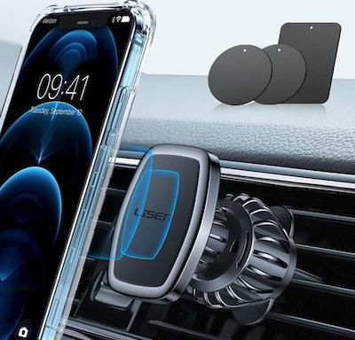 LISEN Phone Holder Car Magnetic Phone Mount (6-Pack)