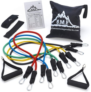 Black Mountain Products Resistance Band Set (8-Pieces)