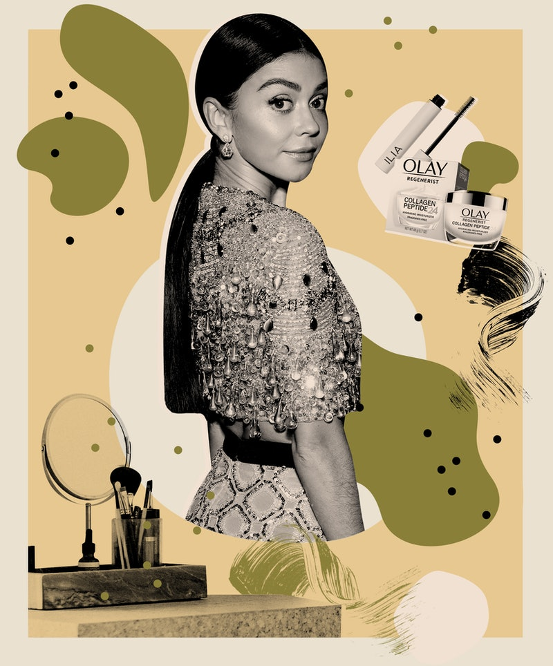 Sarah Hyland shares her favorite beauty products and her current skin care routine.