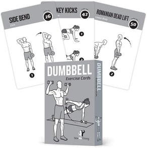 NewMe Fitness Dumbbell Exercise Cards