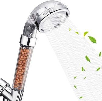 Nosame High Pressure Shower Head with Filtration