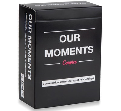 OUR MOMENTS Couples: 100 Thought Provoking Conversation Starters for Great Relationships