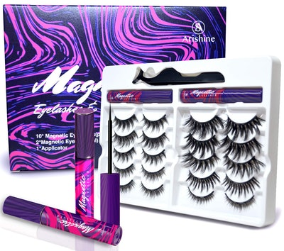 Arishine 3D 5D Magnetic Eyelashes Kit