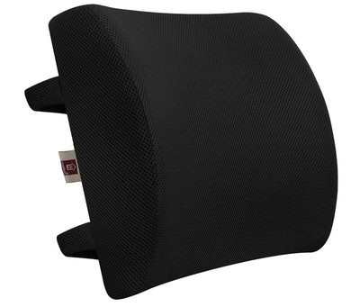 LOVEHOME Memory Foam Lumbar Support Back Cushion with 3D Mesh Cover