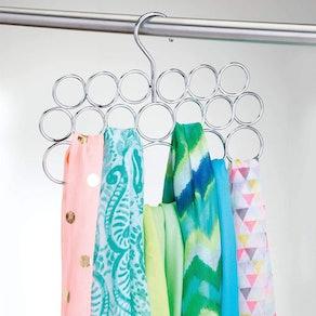 iDesign Metal Loop Scarf Hanger