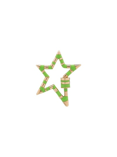 14kt Yellow Gold Star Lock Charm