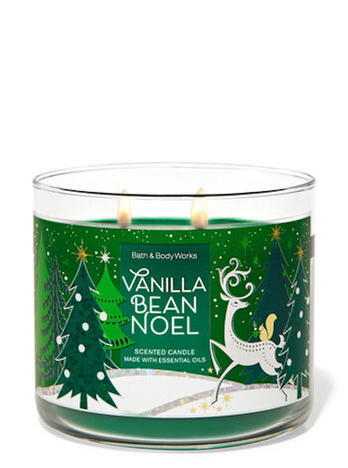 Vanilla Bean Noel Three-Wick Candle