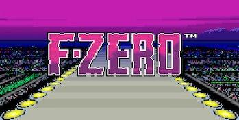 F-Zero's opening art