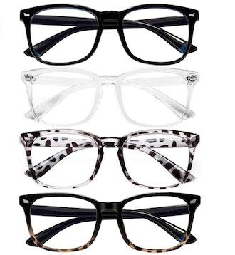 FEIDU Blue Light Blocking Glasses (4 Pack)