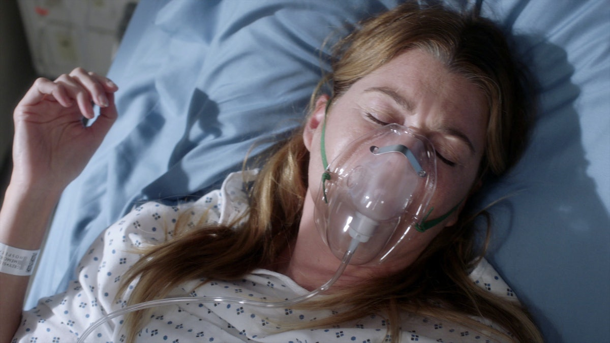 Meredith in 'Grey's Anatomy' Season 17
