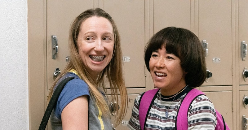 Maya Erskine and Anna Konkle in 'Pen15.'