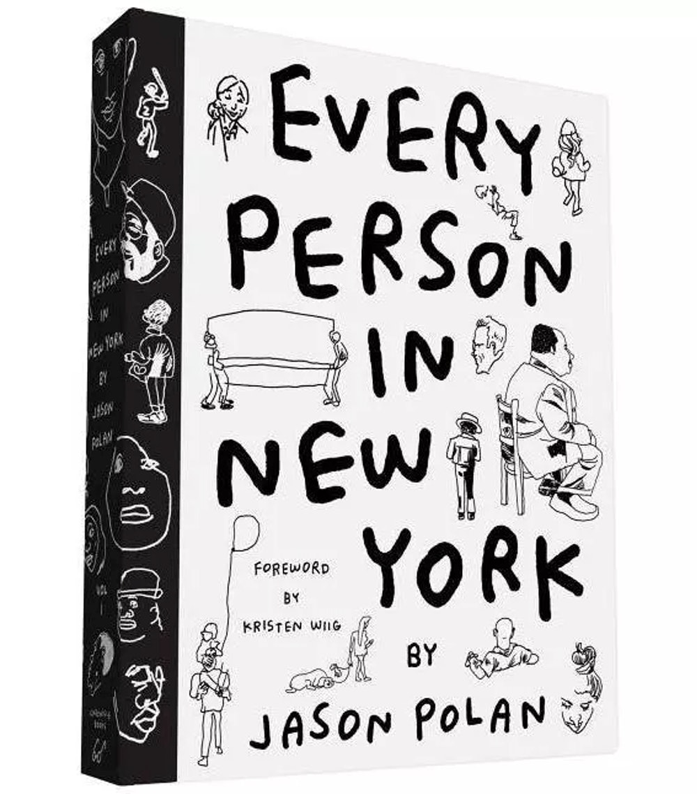 Every Person in New York by Jason Polan