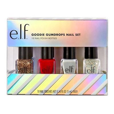 e.l.f. Holiday Goodie Gumdrops Nail Polish Gift Set