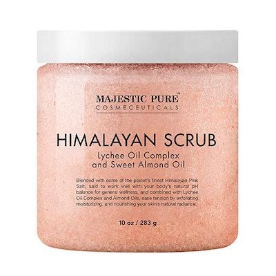 Majestic Pure Himalayan Salt Body Scrub