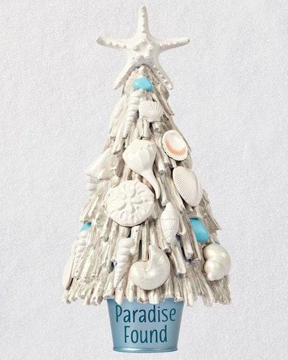 Paradise Found Beach Driftwood Tree Ornament