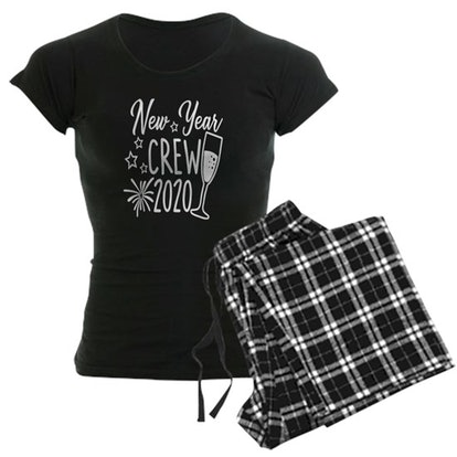 Cafe Press New Years Eve 2020 New Year Crew 2020 Women's Pajama Set