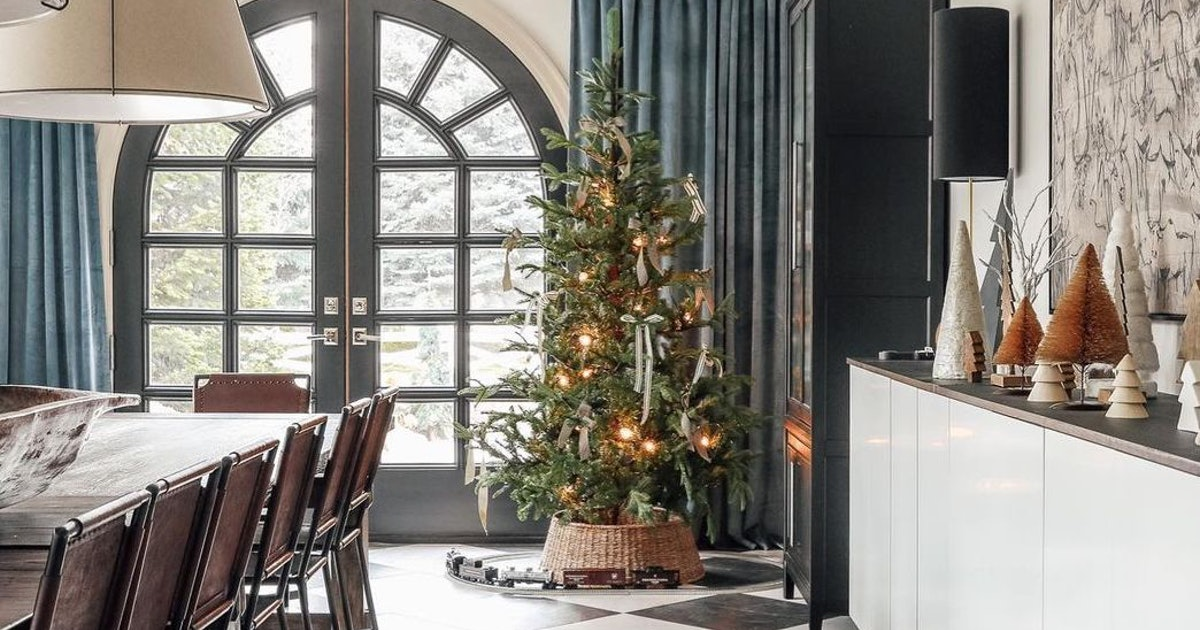 Try This Designer-Approved Tip To Change Up Your Christmas Tree Decor