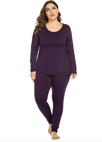 IN'VOLAND Plus-Size Thermal Set