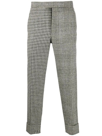 Thom Browne Mixed Check Trousers