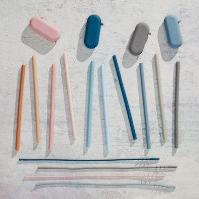 Five Two Silicone Straws