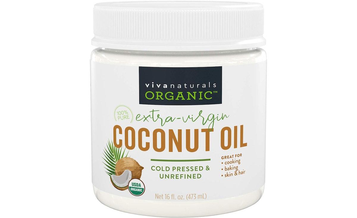 Viva Naturals Organic Extra Virgin Coconut Oil (16 Oz.)