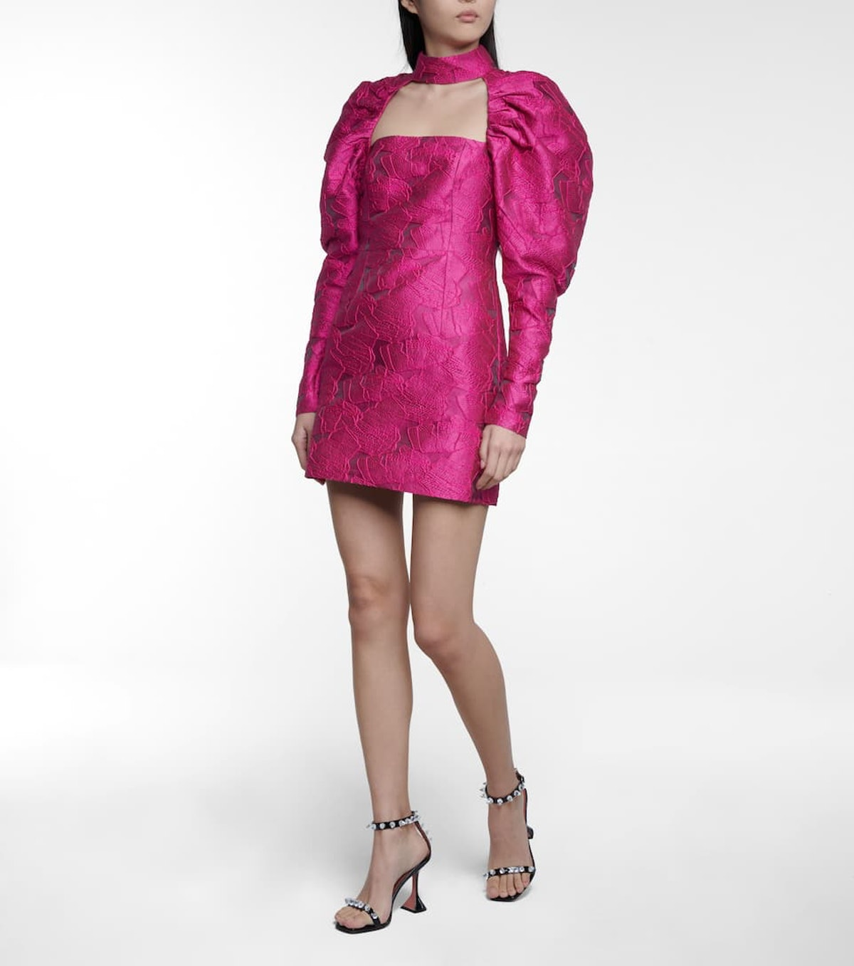 Kaya Jacquard Minidress