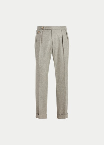 Polo Ralph Lauren Pleated Wool Flannel Trouser