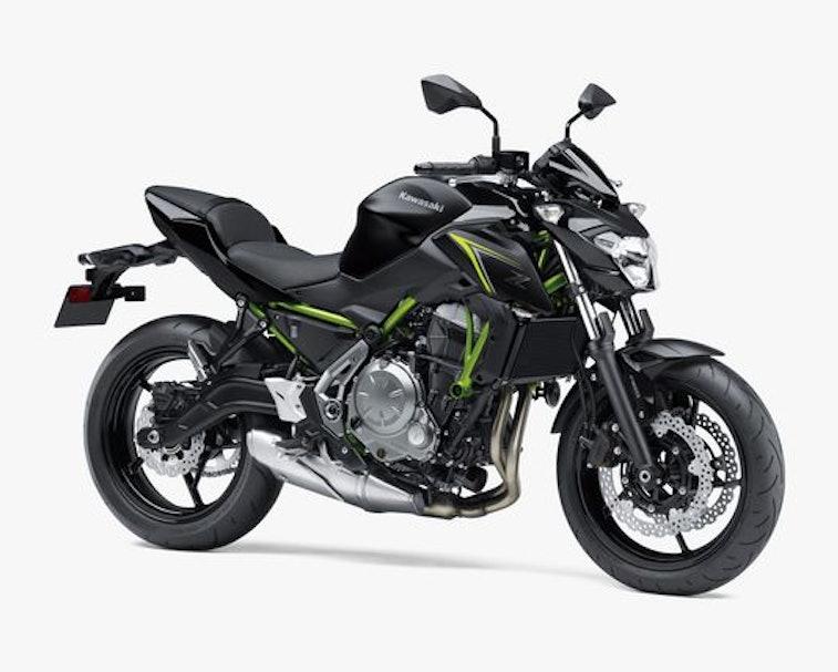 Kawasaki is developing a hybrid electric motorcycle.