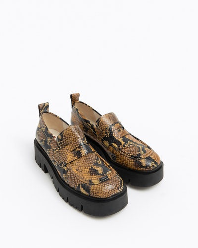 Ochre Leather Loafer