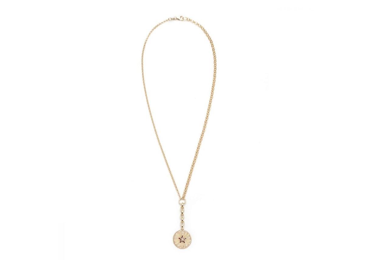 Medium Belcher Star Necklace