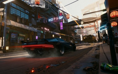 cyberpunk 2077 cd projekt red video game