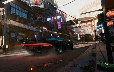 cyberpunk 2077 cd projekt red video game