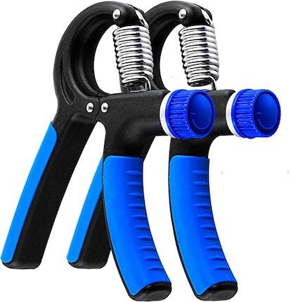 Grip Strength Trainer - 2 Pack Hand Grip Strengthener