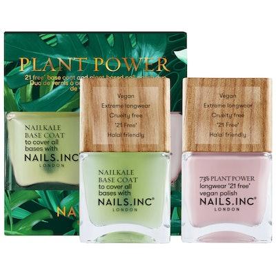 NAILS INC. Plant Power Nail Polish Duo