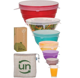 unwasted Silicone Stretch Lids (7-Pieces)