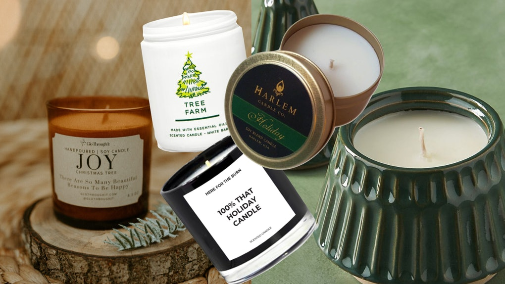 The holiday candles for 2020 include evergreen scents and witty labels from big and small shops alike.