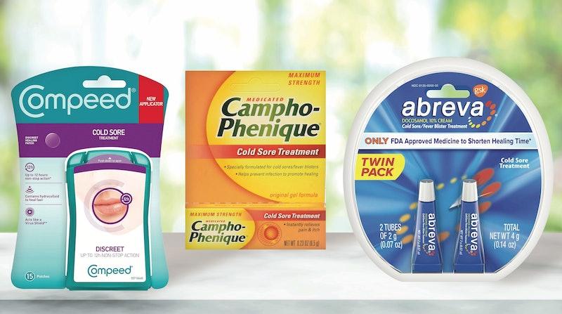 Best OTC Cold Sore Treatments