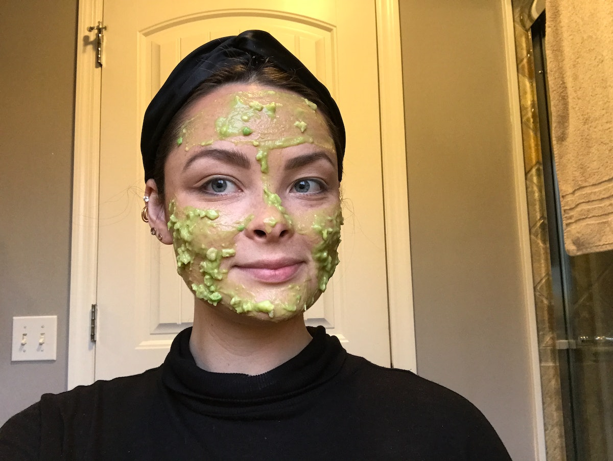 Elite Daily writer Lexi Williams tried Kendall Jenner's DIY avocado face mask