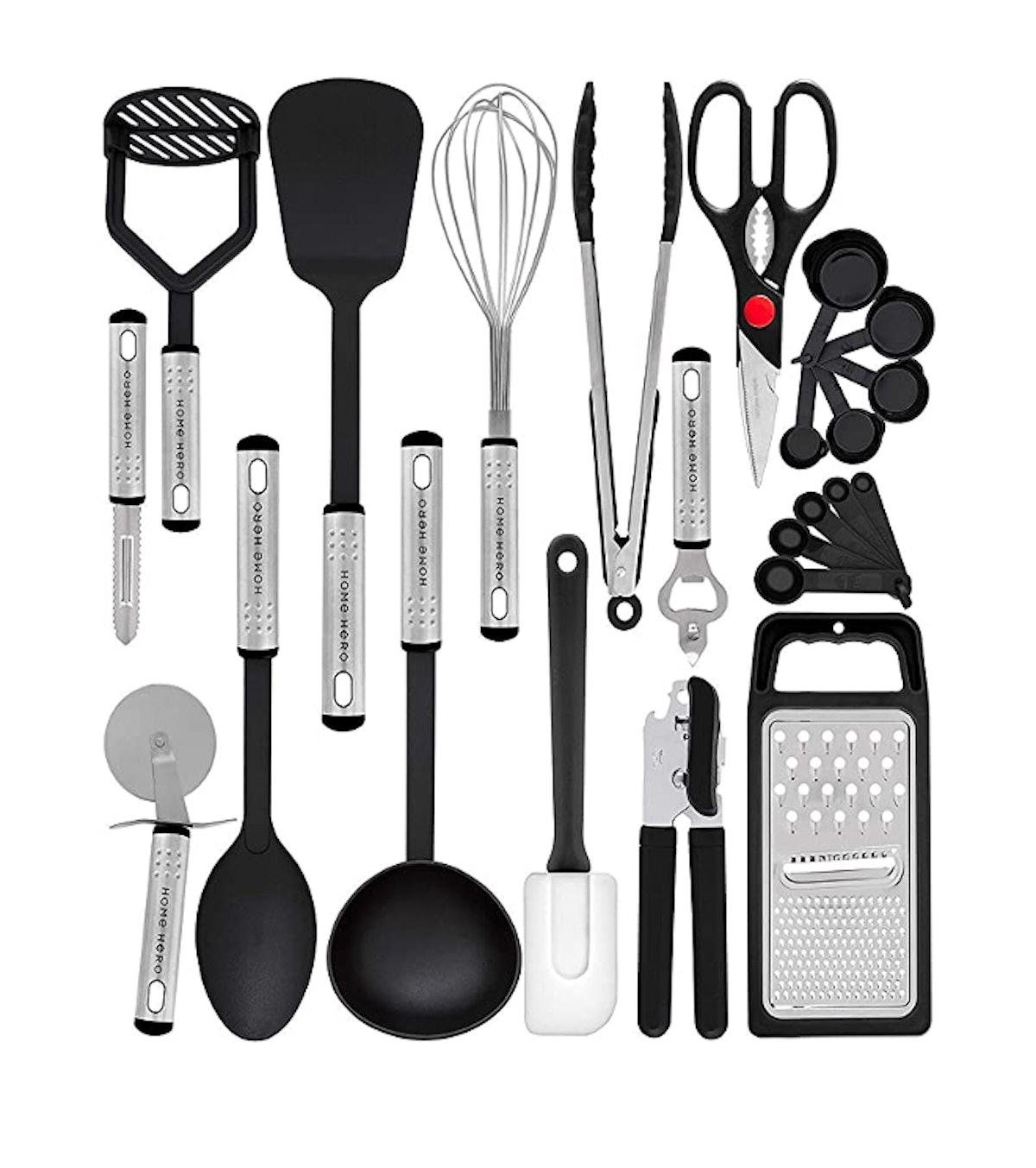 Home Hero Kitchen Utensil Set (23 Pieces)