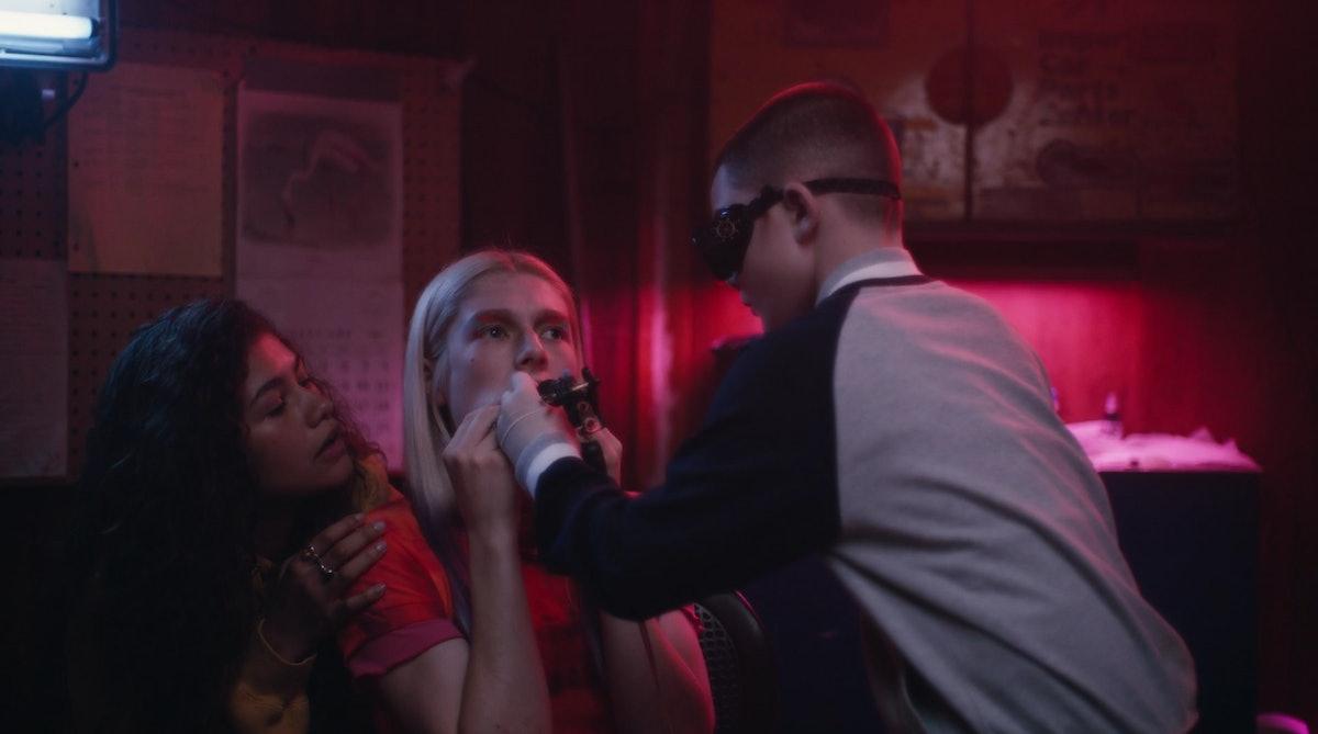 Rue and Jules got matching lip tattoos in Season 1, Episode 5 of 'Euphoria.'