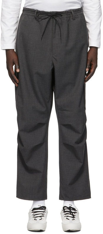 Y-3 Wool Winter Cargo Pants