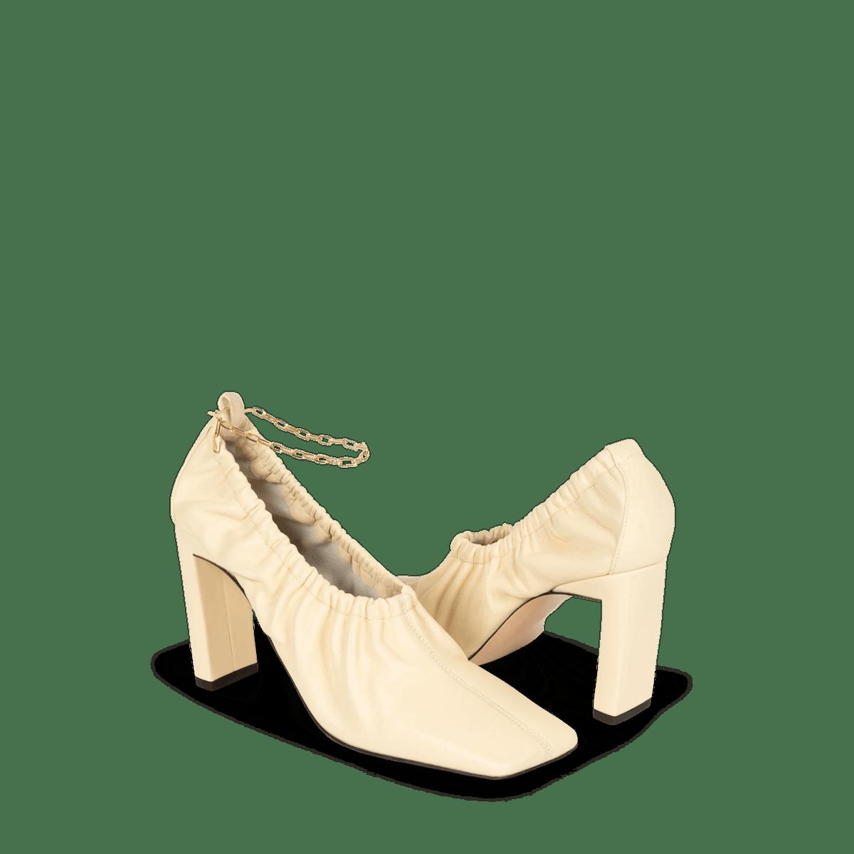 x Lizzie Mandler - Mia Mule Gold Anklet