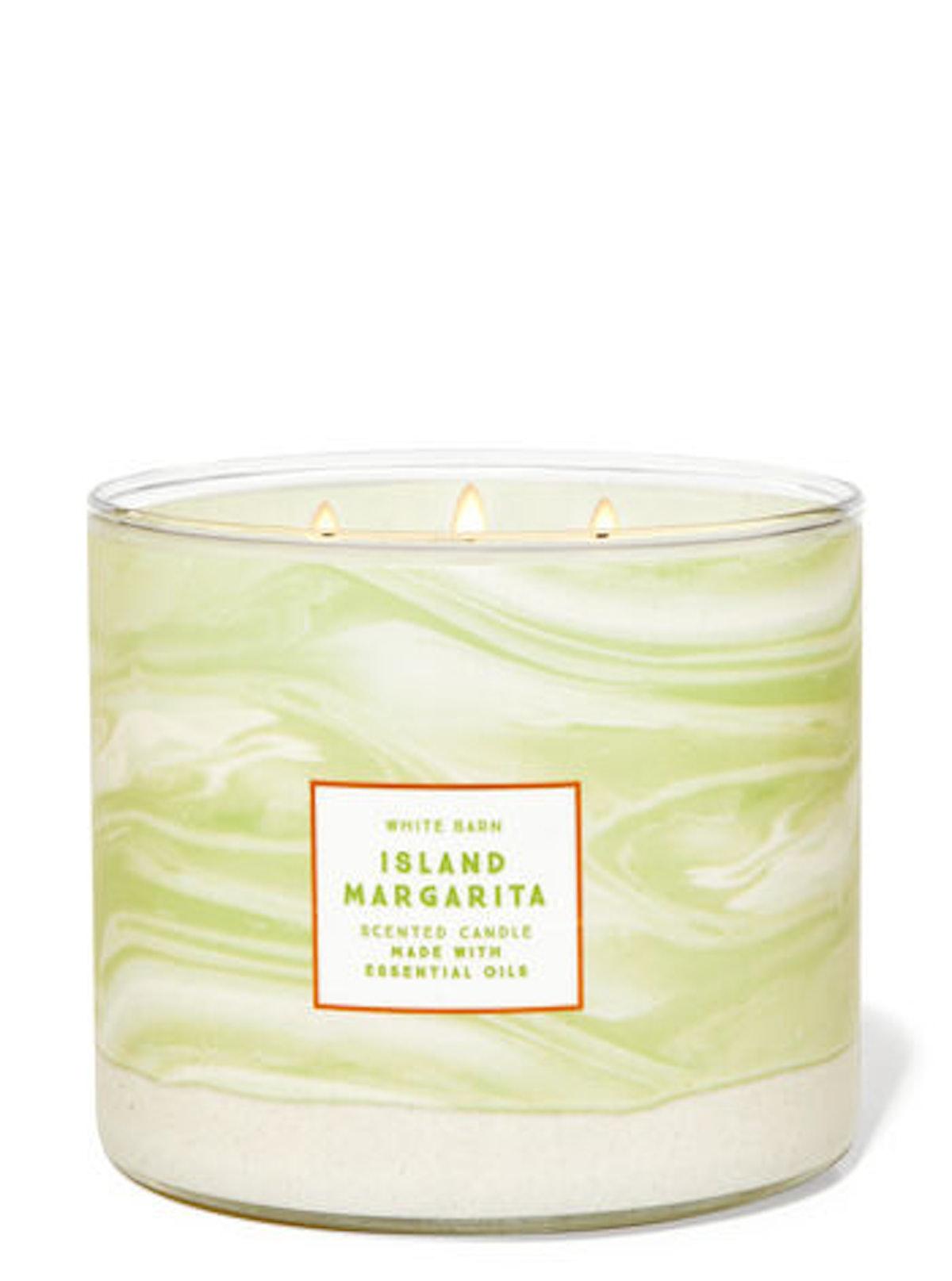 Island Margarita Three-Wick Candle