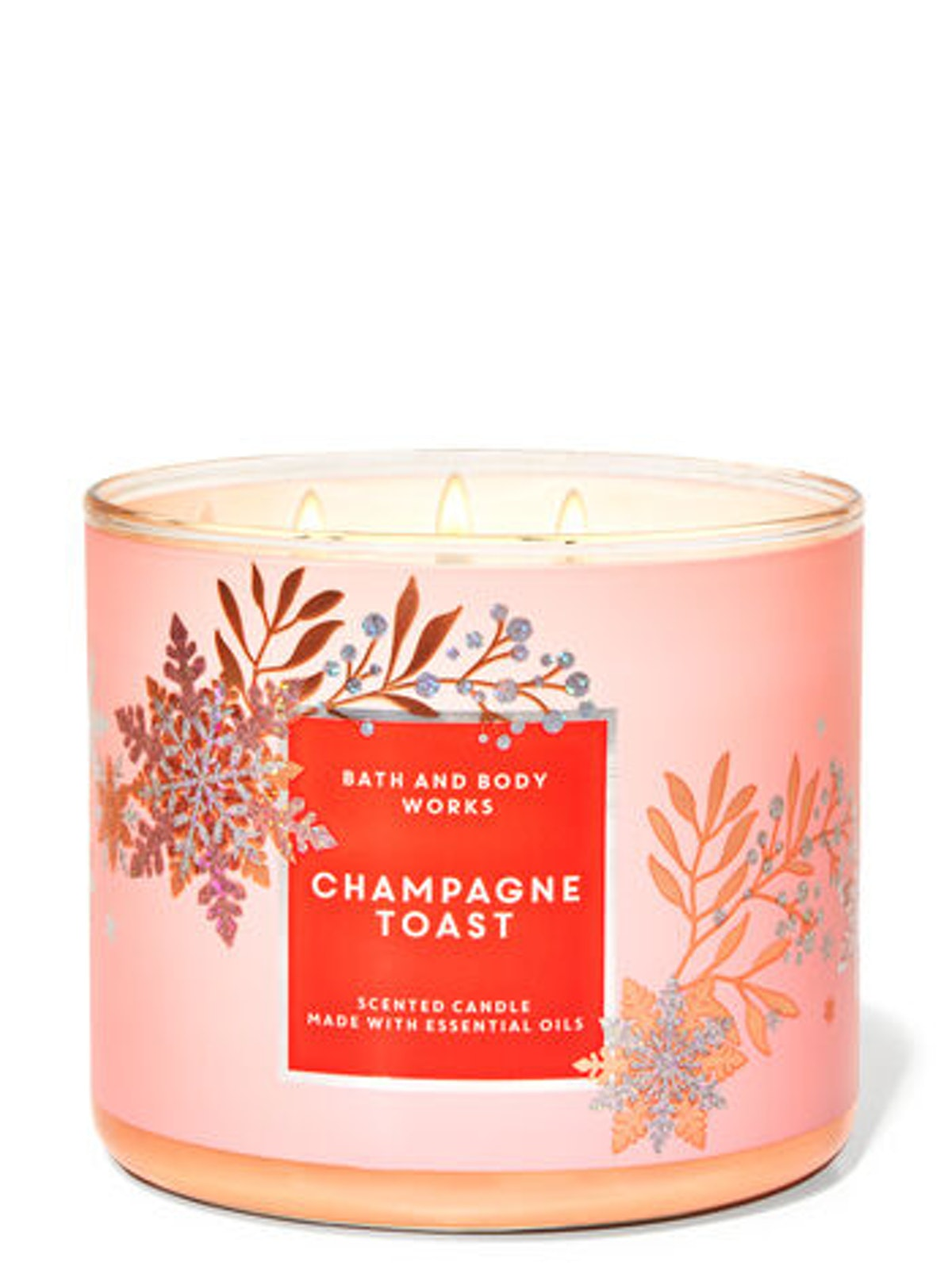 Champagne Toast Three-Wick Candle