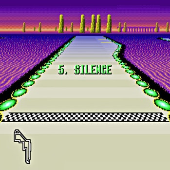 The F-Zero level that takes place on a planet called Silence
