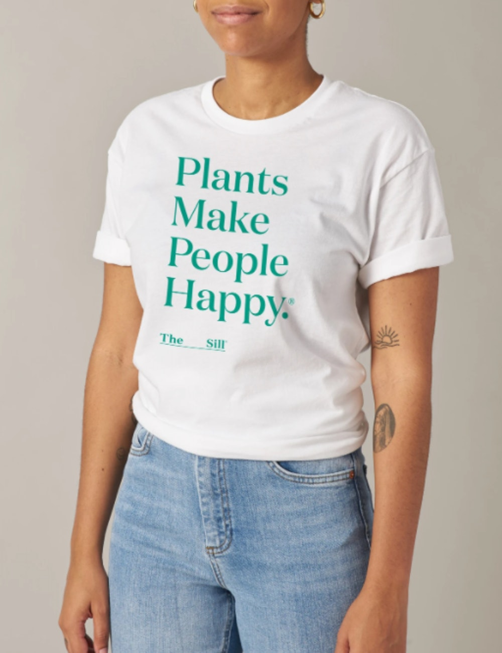 Plants Make People Happy Tee