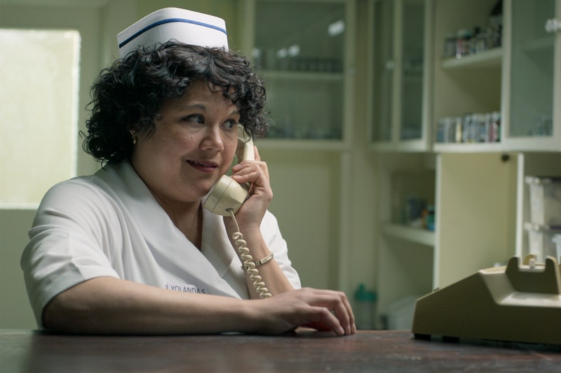 Natasha Perez, who plays Yolanda Saldivar on 'Selena: The Series' is concerned fans will conflate he...